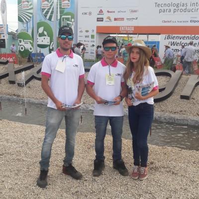 Staff de SN en Expoagro