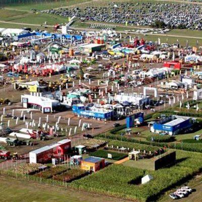 Vista aérea Expoagro 2017
